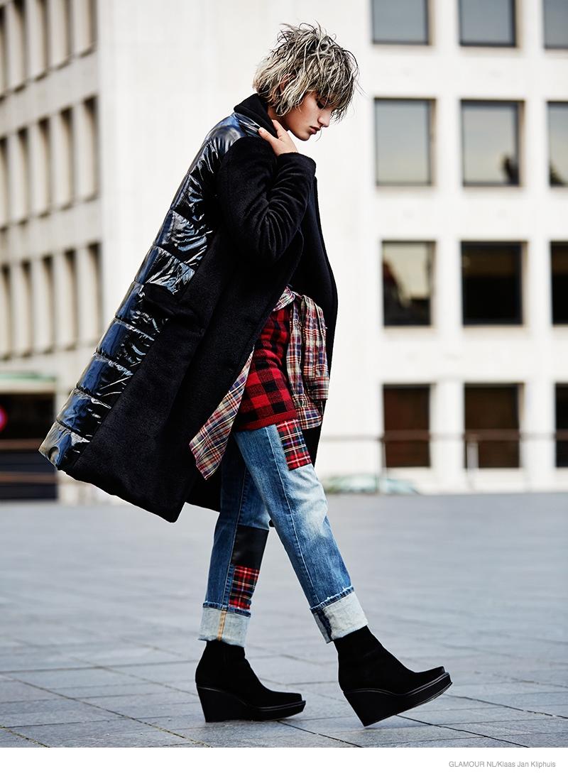 Soekie Gravenhorst Wears Tomboy Style For Glamour