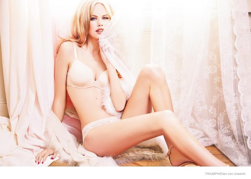 triumph lingerie 2014 fall ad campaign12 Emma Stern Nielsen Wows for Triumph Lingerie Fall 2014 Ads by Ellen von Unwerth