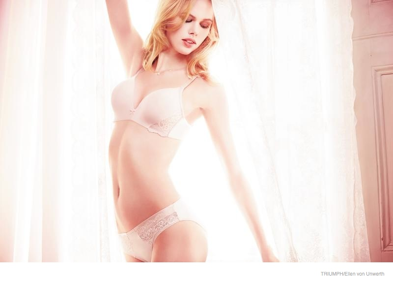 triumph lingerie 2014 fall ad campaign13 Emma Stern Nielsen Wows for Triumph Lingerie Fall 2014 Ads by Ellen von Unwerth