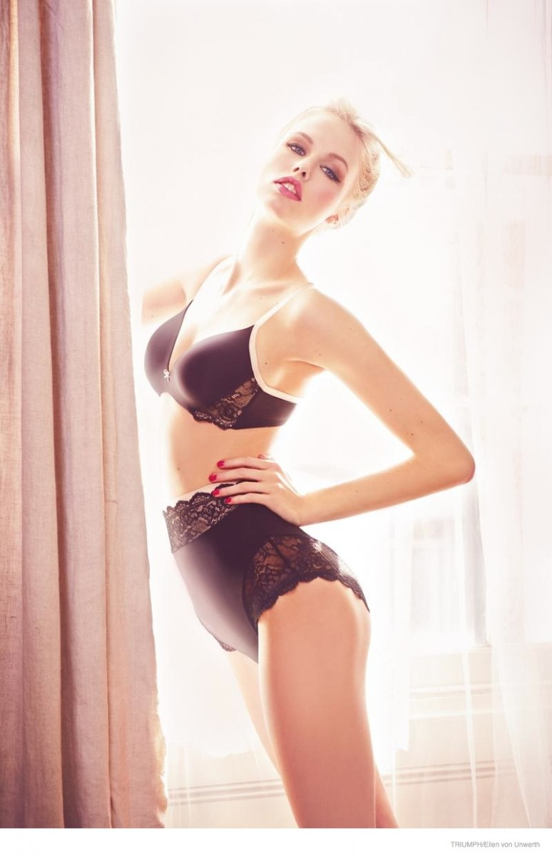triumph lingerie 2014 fall ad campaign16 774x1200 Emma Stern Nielsen Wows for Triumph Lingerie Fall 2014 Ads by Ellen von Unwerth