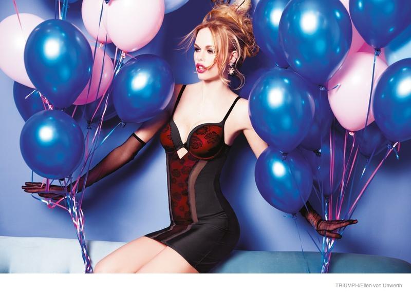 triumph lingerie 2014 fall ad campaign19 Emma Stern Nielsen Wows for Triumph Lingerie Fall 2014 Ads by Ellen von Unwerth