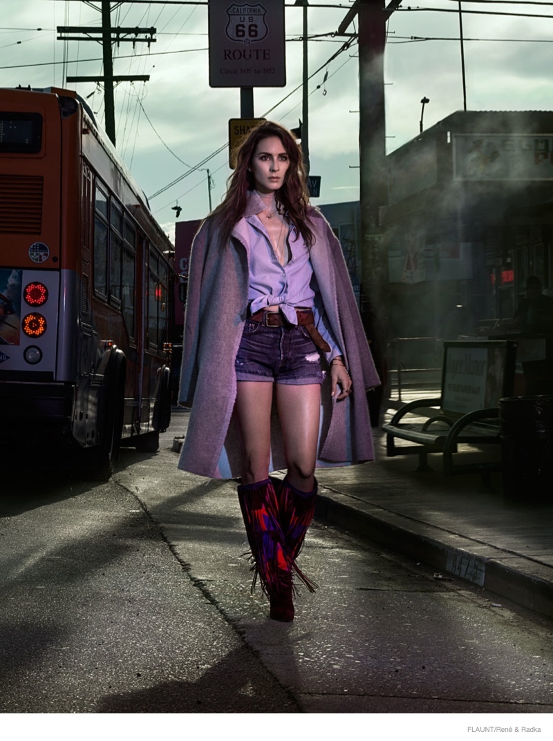 troian bellisario flaunt 2014 shoot01 Pretty Little Liars' Star Troian Bellisario is Cowgirl Cool for FLAUNT