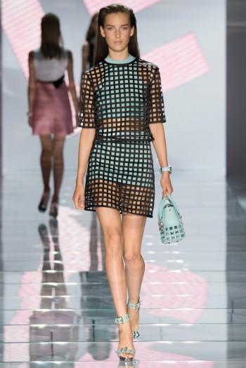 Versace Spring 2015: Sporty Glam