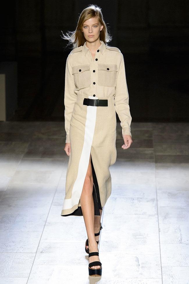 Victoria Beckham Creates Glamorous Uniforms for Spring 2015 Line
