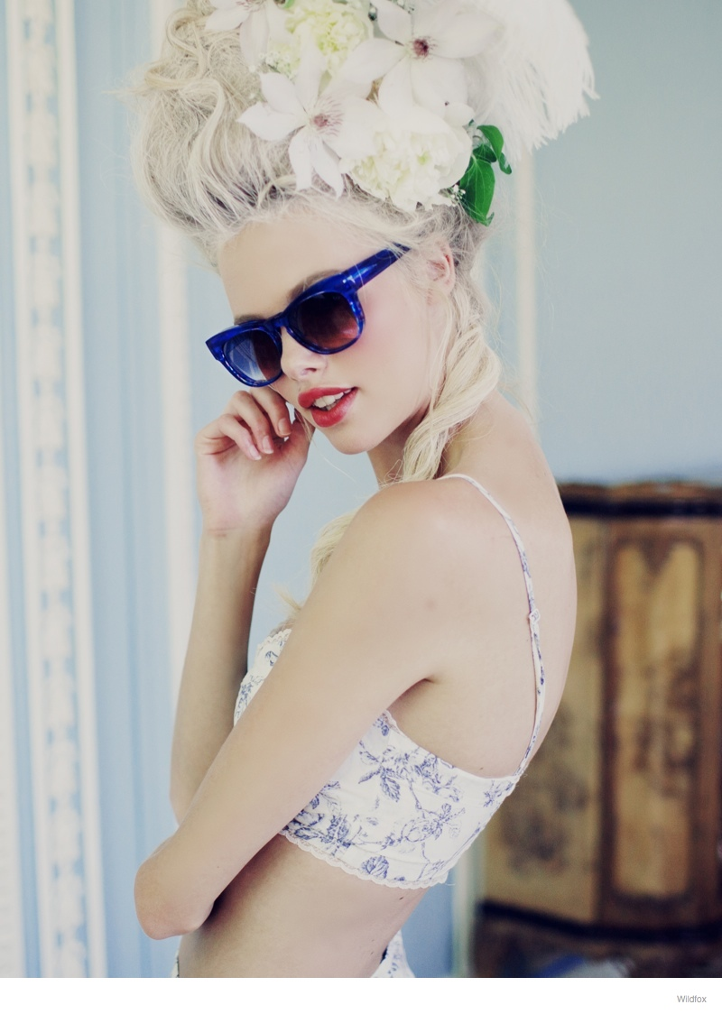 Wildfox Launches Marie Antoinette Inspired Sunglasses Lookbook