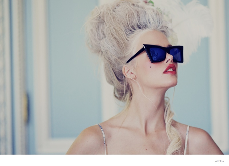 wildfox marie antoinette glasses fashion 05 Wildfox Launches Marie Antoinette Inspired Sunglasses Lookbook