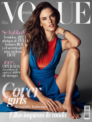 Alessandra, Edita + Kati Land Vogue Spain November 2014 Covers