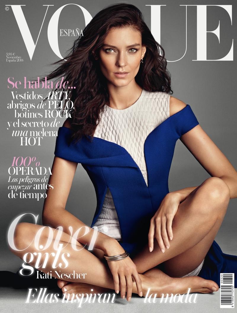 Alessandra, Edita + Kati Land Vogue Spain November 2014 ...