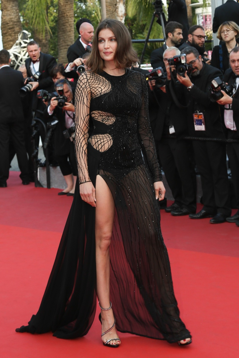 Laetitia Casta at the Cannes Film Festival.
