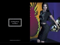 Adriana Lima Stars in the Versace for Riachuelo Campaign