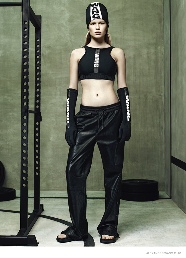 See the Alexander Wang x H&M Lookbook!