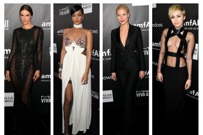 2014 amfAR LA Inspiration Gala Style: Miley Cyrus, Rihanna, Alessandra Ambrosio + More
