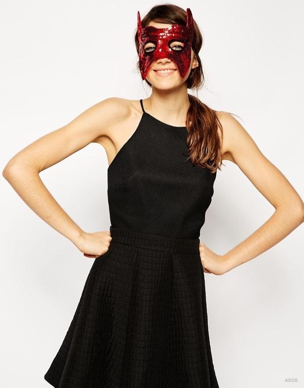 ASOS Halloween Devil Mask