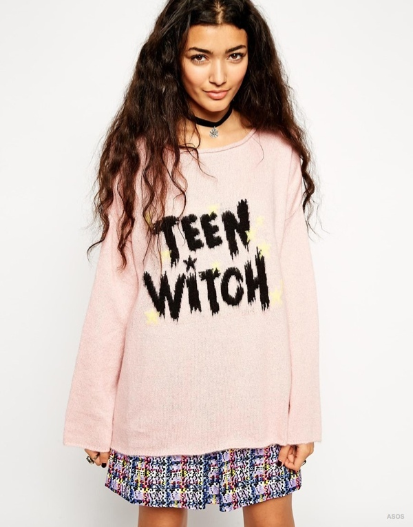 "ASOS Halloween ""Teen Witch"" Jumper"