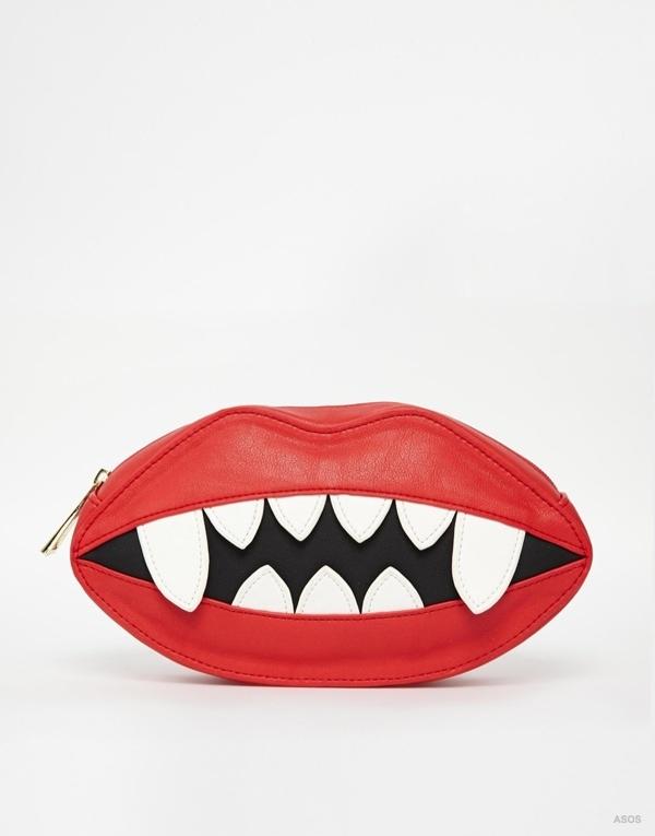 ASOS Halloween Lips Clutch