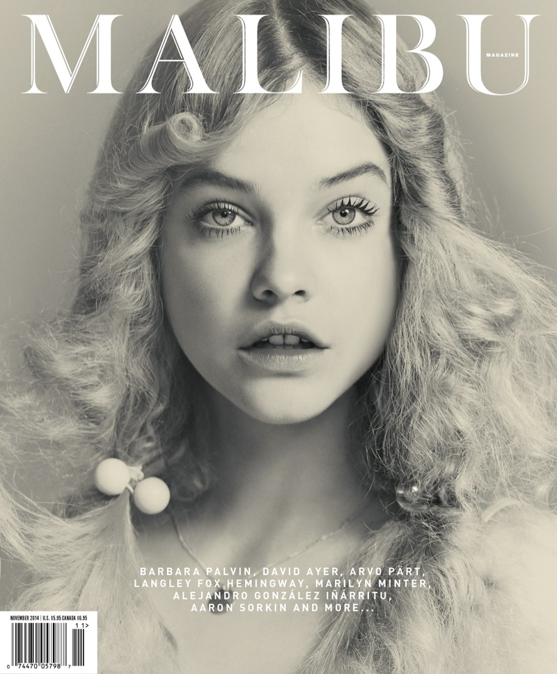 Barbara Palvin is Ethereal on Malibu Magazine November 2014 Cover