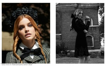 Barbara Palvin Wears Crowns for Wonderland Magazine