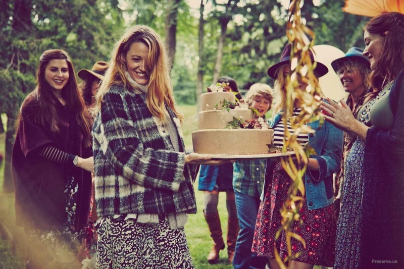 Blake Lively Shows Pregnancy Style in Baby Shower Photos