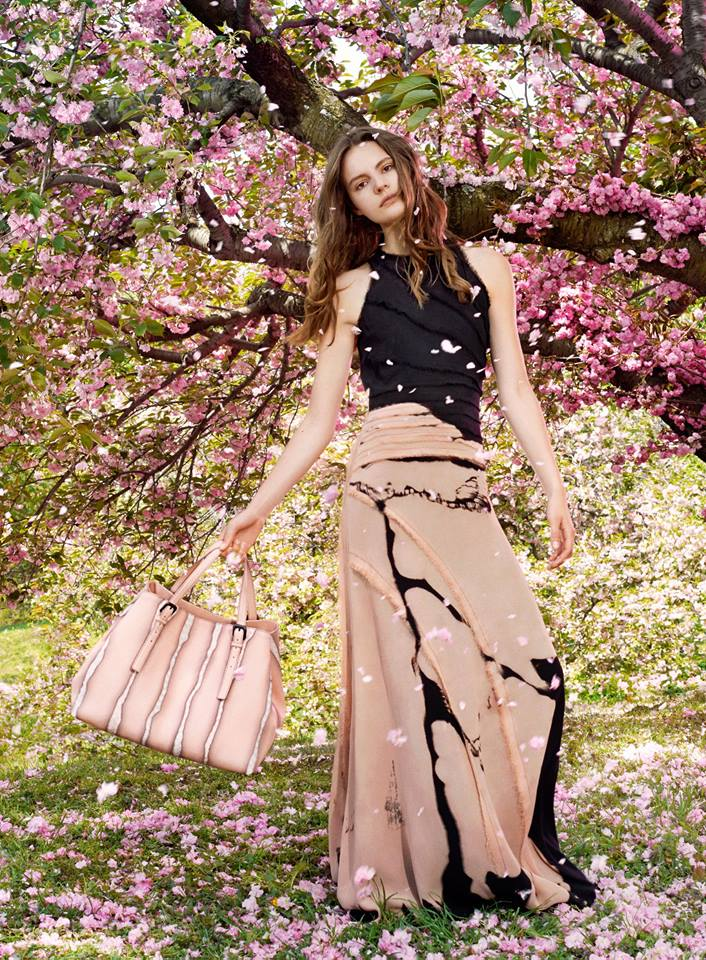 Preview | Bottega Veneta Resort 2015 Campaign with Tilda Lindstam