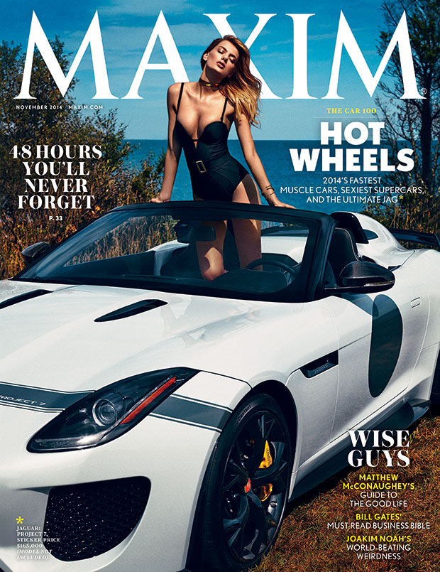 Bregje Heinen is Looking Hot on Maxim's November 2014 Cover