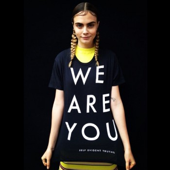 Cara Delevingne shared her support for the LGBT community