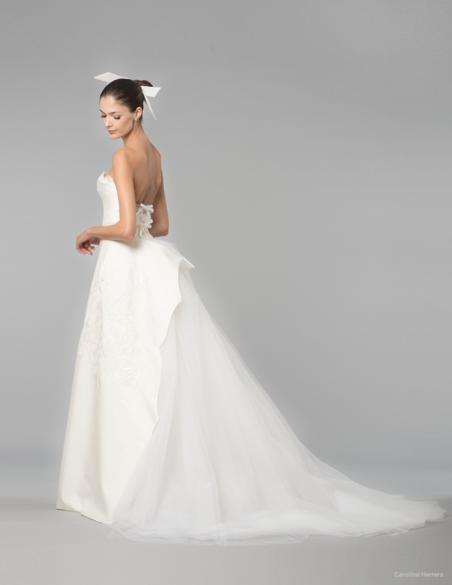 Carolina Herrera Fall 2014 Wedding Dresses Carolina Herrera Bridal Fall