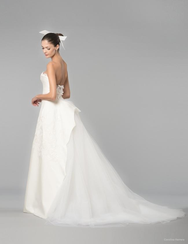 Carolina Herrera Bridal Fall 2015 Wedding Dresses