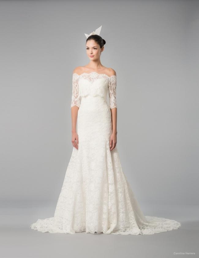 Carolina herrera bridal 2015 fall wedding dresses09 for Wedding dresses for the fall