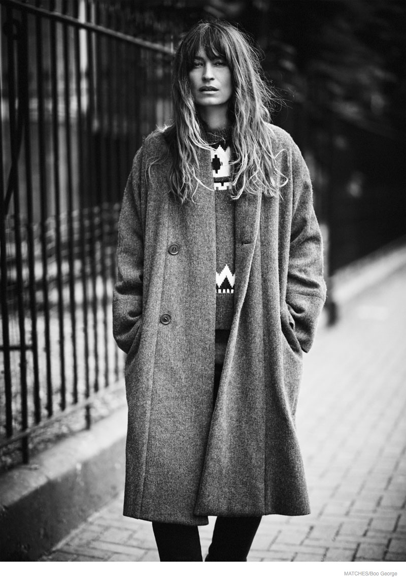 Caroline de Maigret is Parisian Chic for Matches Fashion Magazine