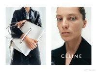 "Daria Werbowy Does the ""No Makeup"" Look for Celine's Resort 2015 Ads"