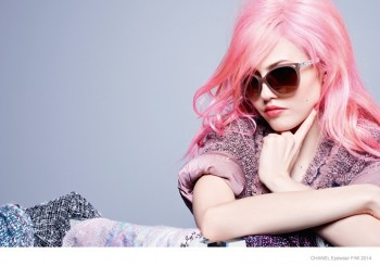 More Photos of Chanel Eyewear's Fall 2014 Campaign with Charlotte Free