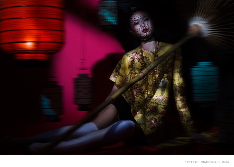 Dreaming Couture: Ling Yue by Michelle Du Xuan for L'Officiel China