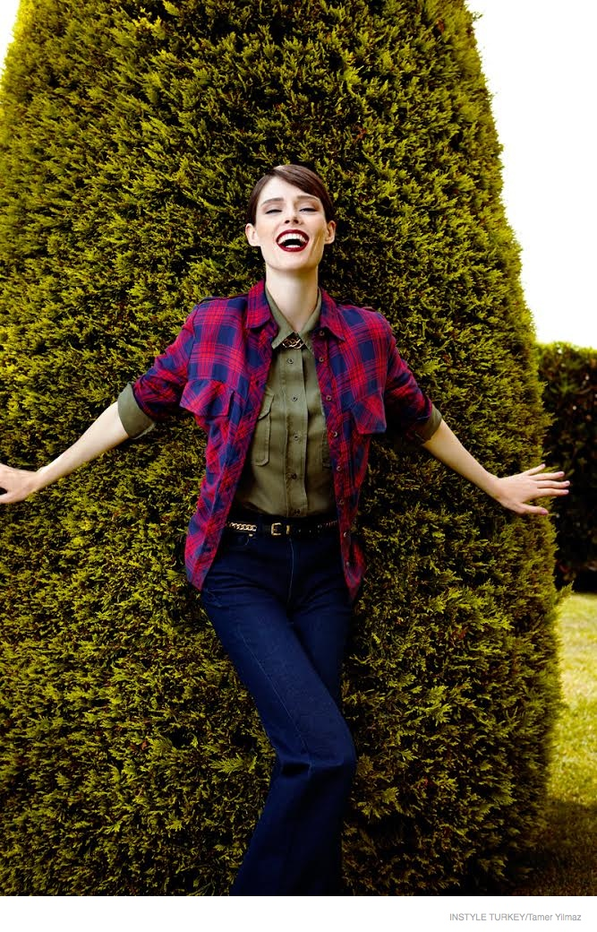 Coco Rocha is All Smiles for InStyle Turkey by Tamer Yilmaz