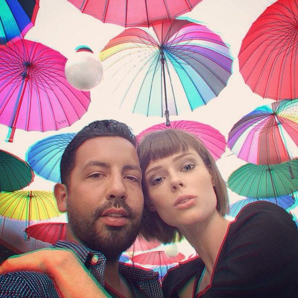 Coco Rocha & Her Husband James Conran. Photo: Instagram