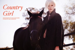 "FGR Exclusive | Bianca Hepburn by Zoe Economides in ""Country Girl"""