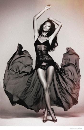 Daniela de Jesus is a Vixen for Galore by Pierre dal Corso