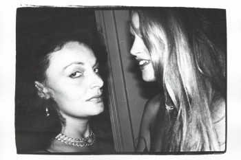 Daine Von Furstenberg & Jerry Hall. Photo: Andy Warhol/Christies