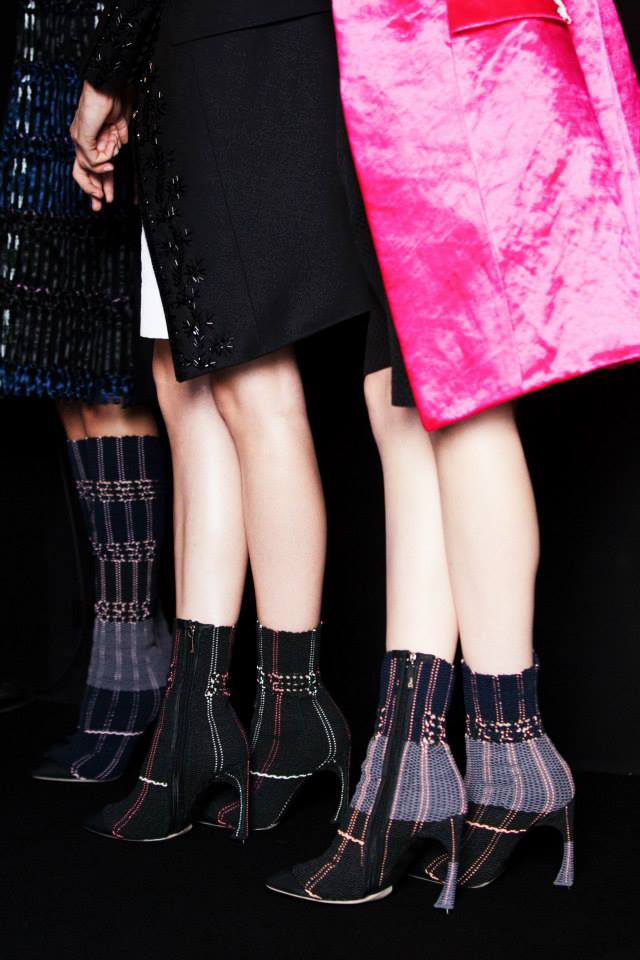 Shoes at Dior Spring 2015 Show. Via Dior.