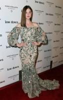 "Elle Fanning Wears Marchesa Floral Gown at ""Lowdown"" LA Premiere"