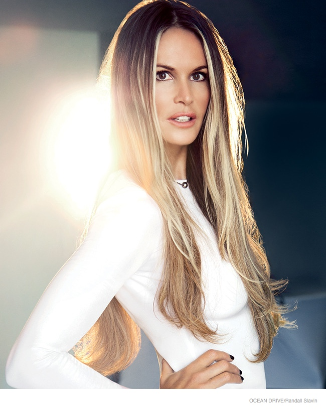 Elle Macpherson Stars in Ocean Drive, Talks Being 50