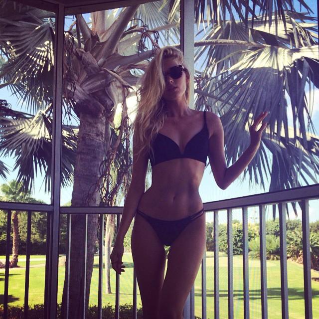Elsa Hosk takes a sexy swimwear snap