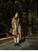 Emma Roberts Wears 60s Style for Flaunt by Stevie and Mada