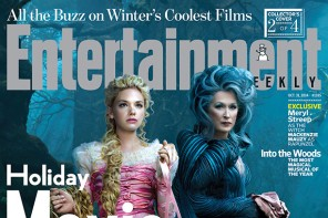 "First Look at Meryl Streep, Anna Kendrick, Emily Blunt in ""Into the Woods"" for EW"