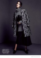Britt B. Wears Autumn Coats for Dress to Kill by Lily & Lilac