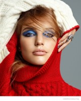Pat McGrath Creates Colorful Eye Makeup Looks for Cosmopolitan