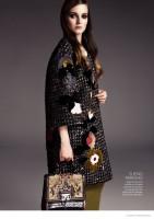 Angelika Kocheva in Fall Looks by Matallana for Glamour Mexico