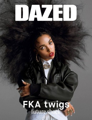 FKA Twigs on Dazed & Confused Summer 2014 Cover