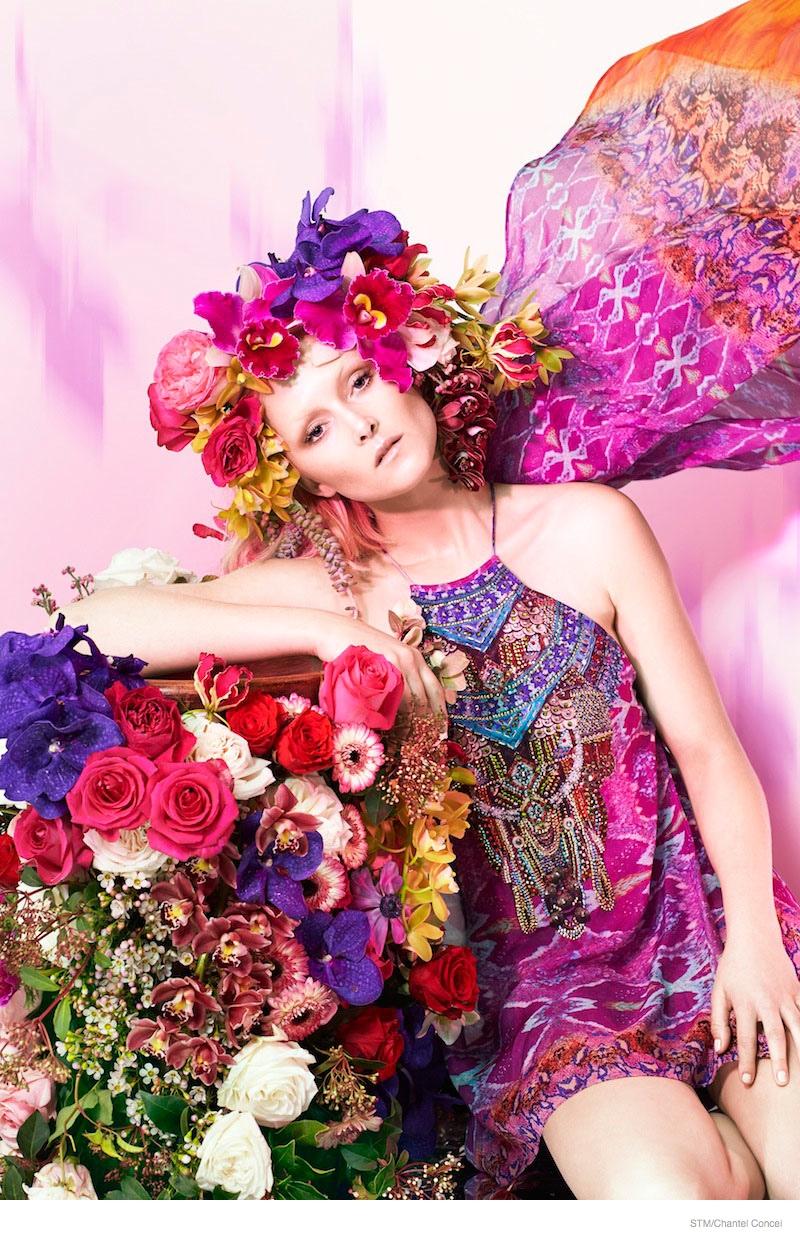 Flower Power: Amy Finlayson by Chantel Concei for Sunday Times Magazine
