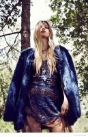 Morgane Warnier Gets Bohemian in For Love & Lemons' Holiday 2014 Lookbook