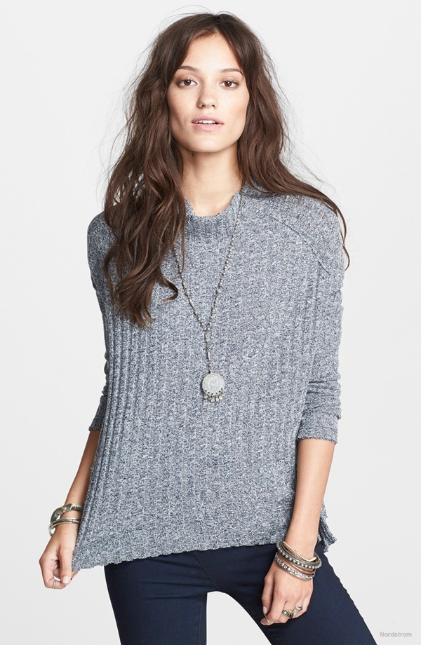 Free People 'Clarissa's' Mock Neck Sweater